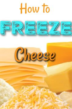 Cheese and Save Money How to Freeze Cheese Tutorial - Learn how to freeze cheese and save money on your grocery bills!How to Freeze Cheese Tutorial - Learn how to freeze cheese and save money on your grocery bills! Cookbook Recipes, Real Food Recipes, Great Recipes, Dessert Recipes, Amazing Recipes, Easy Recipes, Copycat Recipes, Desserts, Freezing Cheese