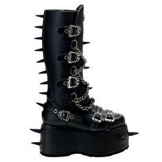 WICKED-808 Demonia Gothic Platform Boots