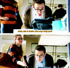"""Hello, this is CatCo. How may I help you?"" - Mon-El and Kara #Supergirl ((Bahahaha!!))"