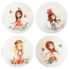 birthday calendet Painted Plates, Art Pictures, Decorative Plates, Quilting, Paintings, Illustrations, Ceramics, Drawings, Heart