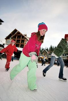 #Ice-skating at Northstar-at-Tahoe: one of the best rinks around (and it's free)!