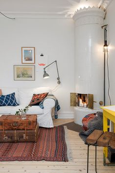my scandinavian home: A Gothenburg home with touches of Autumn