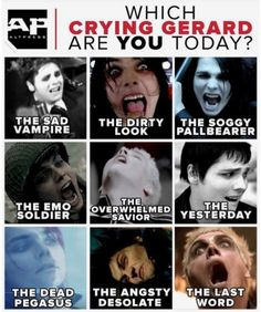 Probably the dead Pegasus - The Greatest Bands And Artists Ever To Exist - Punk Emo Meme, Emo Band Memes, Mcr Memes, Music Memes, Emo Bands, Music Bands, Pop Punk Bands, My Chemical Romance Memes, Gerard Way