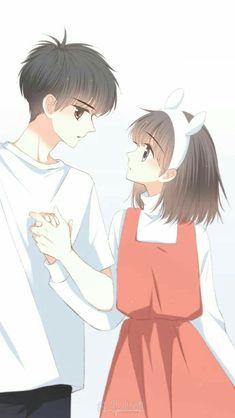 Anime Y always girls hav to suffer. Anime Chibi, Kawaii Anime, Manga Anime, Cute Couple Art, Anime Love Couple, Manga Couple, Anime Couples Drawings, Anime Couples Manga, Cute Anime Couples