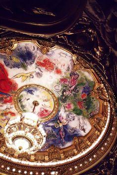 Chagall's ceiling - Opera Garnier de Paris | by © NylonBleu