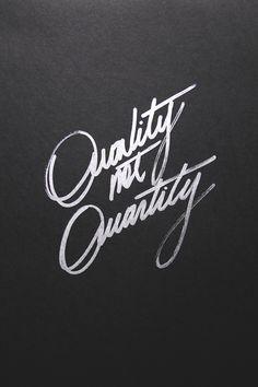 Preferimos la calidad!