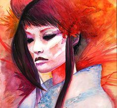 geisha by ~romonimo on deviantART