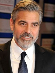 george clooney hairstyle 15 captivating clooney pinterest. Black Bedroom Furniture Sets. Home Design Ideas