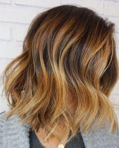 Toffee nut hair | Balayage | dimensional hair | dimensional Balayage | elizabethashleyy