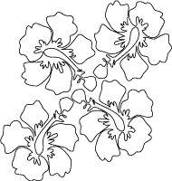 Aloha Sign Printable Coloring Sheet for Hawaii Thematic