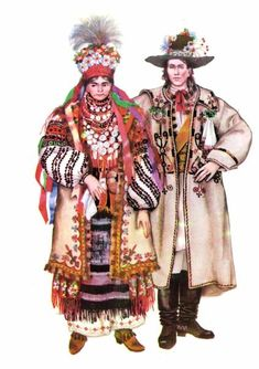 Ukrainian traditional wedding dresses