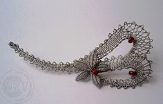 Lace Heart, Lace Jewelry, Bobbin Lace, Happy Valentines Day, Lace Detail, Hearts, Butterfly, Brooch, Chain
