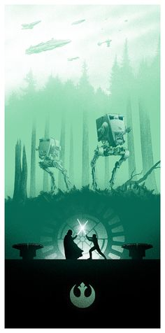 Star Wars triptych by Marko Manev 3 of 3