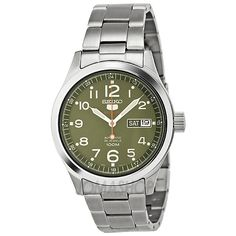 She's green ...and she's beautiful! Seiko Automatic Green Dial Stainless Steel Ladies Watch SRP271