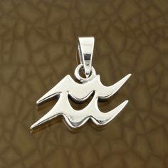 Aquarius-Zodiac-Symbol-Pendant-in-Solid-Sterling-Silver-Symbolic-Charm