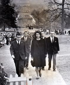 Jackie- I believe this is at Arlington National Cemetery, I think I've seen this pic associated with the flame lighting ceremony at Kennedy's grave but can't swear to it. the link I get a file not found so if anyone knows please post below. Thank you :)