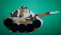 Fabric Applique TEMPLATE ONLY Army Tank by etsykim on Etsy, $1.50
