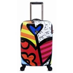 """Britto Collection by Heys USA A New Day 22"""" Spinner Case (A New Day) (Apparel)"""