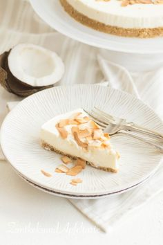 Coconut-Lime-Cheesecake