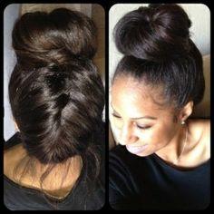 Black girl natural hair | Black girls with loooong hair (natural/straight/relaxed)
