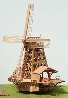 How to make a windmill. Let's make lots of them