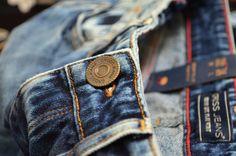 Cross Jeans Men branding details  #branding #details #denim Fashion Men, Rivers, Denim Jeans, Branding, Button, Detail, Random, Pants, Inspiration