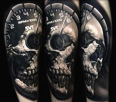 Black Tattoo Art, Black Tattoos, Skull Tattoos, Life Tattoos, Ink, Orange, Instagram, India Ink, Black Art Tattoo