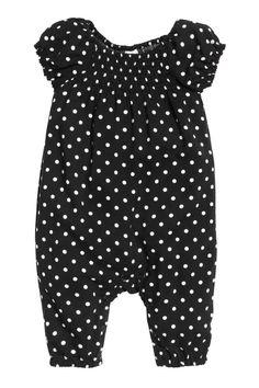 Macacão em tecido estampado | H&M