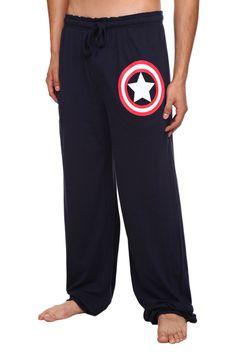 Marvel Universe Captain America Men's Pajama Pants | Hot Topic