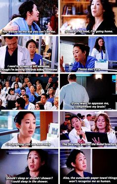 Grey's Anatomy - I'm going to miss her it's going to be weird next season and not see her I'm the show anymore #ChristinaYang