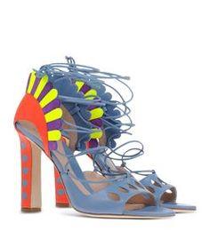 Paula Cademartori Multicolor 'Lotus' Sandal