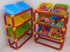 Pvc Pipe Projects, Diy Craft Projects, Baby Play Areas, Real Life Baby Dolls, Diy Toy Storage, Kids Sofa, How To Make Toys, Boys Bedroom Decor, Diy Toys