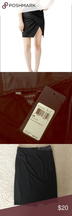 NWT Guess high slit skirt Sexy high slit Guess skirt that can be dressed up or down. Guess Skirts Mini
