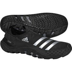 low priced 6984d 60c8e The men s adidas Jawpaw water shoes deliver breathable quick-drying  support, extra protection in the vulnerable toe area, and sticky traction  for maximum ...