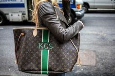 Krystal Schlegel - The Style Book - Fashion blog - New York ~I really like the mon monogram look for LV bags.~J.