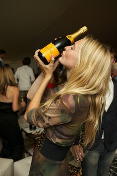Veuve Cliquot! For the love of champagne!