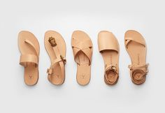 Les sandales minimalistes d'Álvaro González