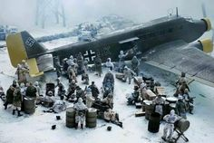 JU-52 it's the last plane leaving Stalingrad
