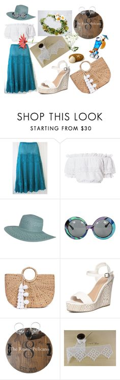 """""""We love summer ..."""" by lwitsa62 ❤ liked on Polyvore featuring LoveShackFancy, Billabong, Emilio Pucci, JADE TRIBE and Dorothy Perkins"""