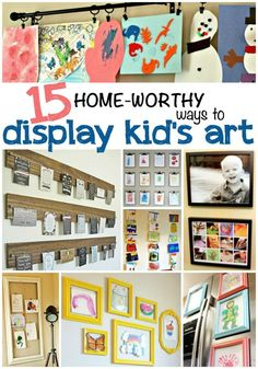 Christmas Store: 15 home-worthy ways to display kid&rsquo