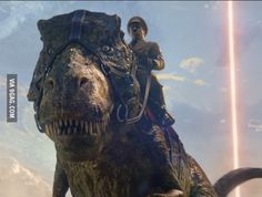 Iron Sky 2 is coming... with Hitler riding a T-Rex
