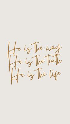 Bible Verses Quotes Inspirational, Scripture Quotes, Jesus Quotes, Faith Quotes, Positive Quotes, Scriptures, Jesus Is Life, Bible Encouragement, Happy Words