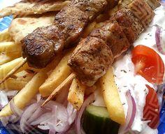Souvlaki, szuflaki Sausage, Pork, Meat, Kale Stir Fry, Beef, Sausages, Pork Chops