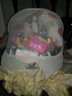 Car seat gift basket!