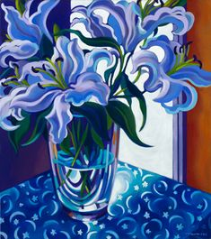 Celestial Winter Lilies by Tracy Turner