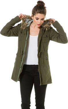 Volcom Trip Military Jacket in olive green http://www.swell.com/Womens-Jackets/VOLCOM-TRIP-MILITARY-JACKET?cs=OL