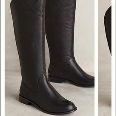 82c8b60b497c Leather Boots Size 9 Stivali Da Equitazione