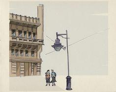 city by Federica Fragapane, via Behance
