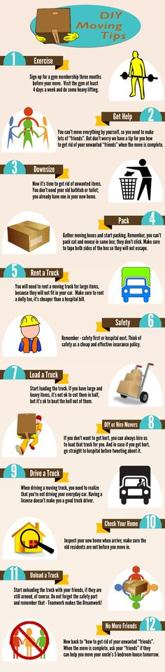 Funny moving and packing tips