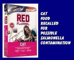 Salmonella risk recalls cat food in 23 states